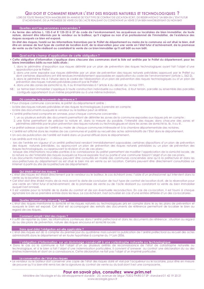 formulaire ERNT page2, mode d'emploi